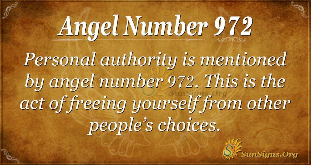 angel number 972