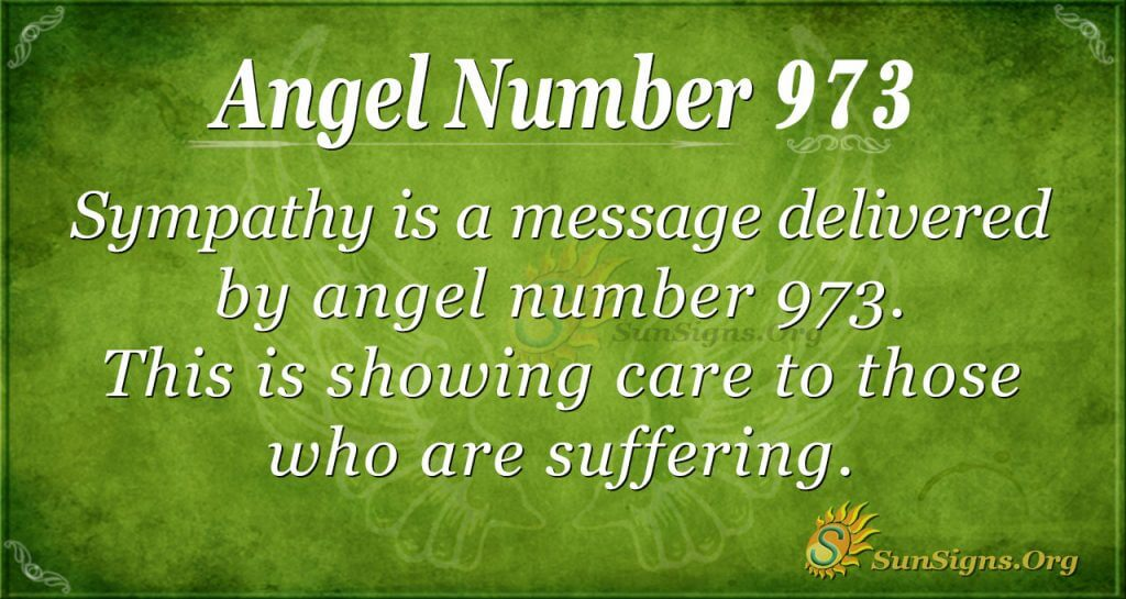 angel number 973