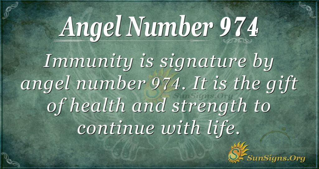 angel number 974
