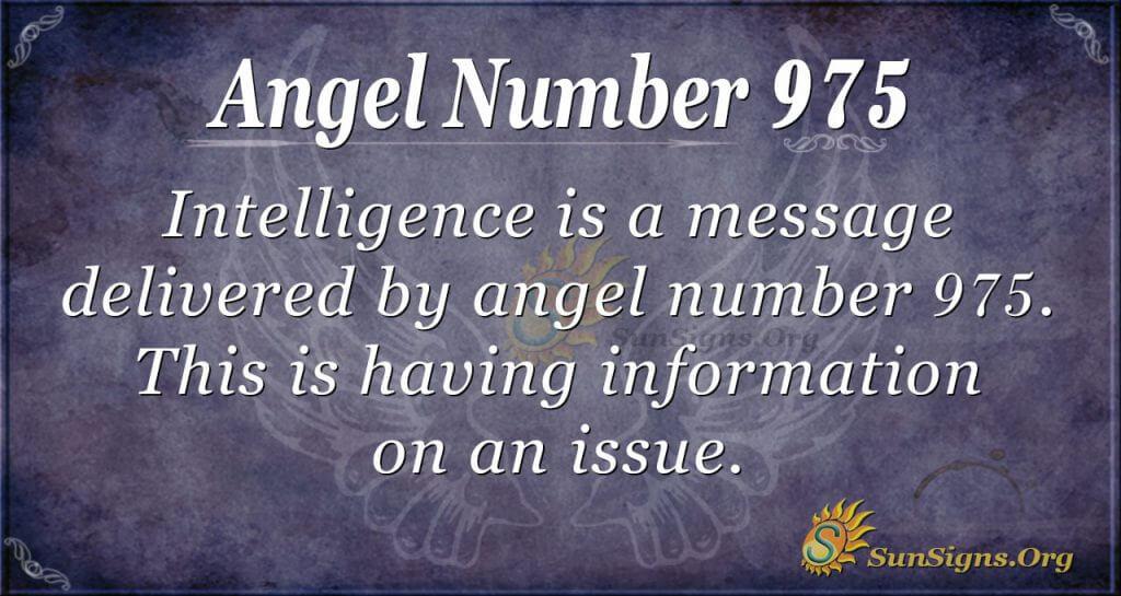 angel number 975
