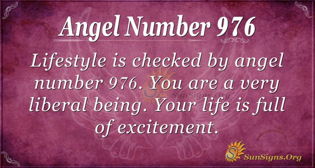angel number 976