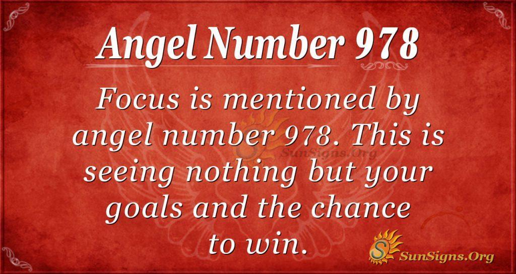 angel number 978