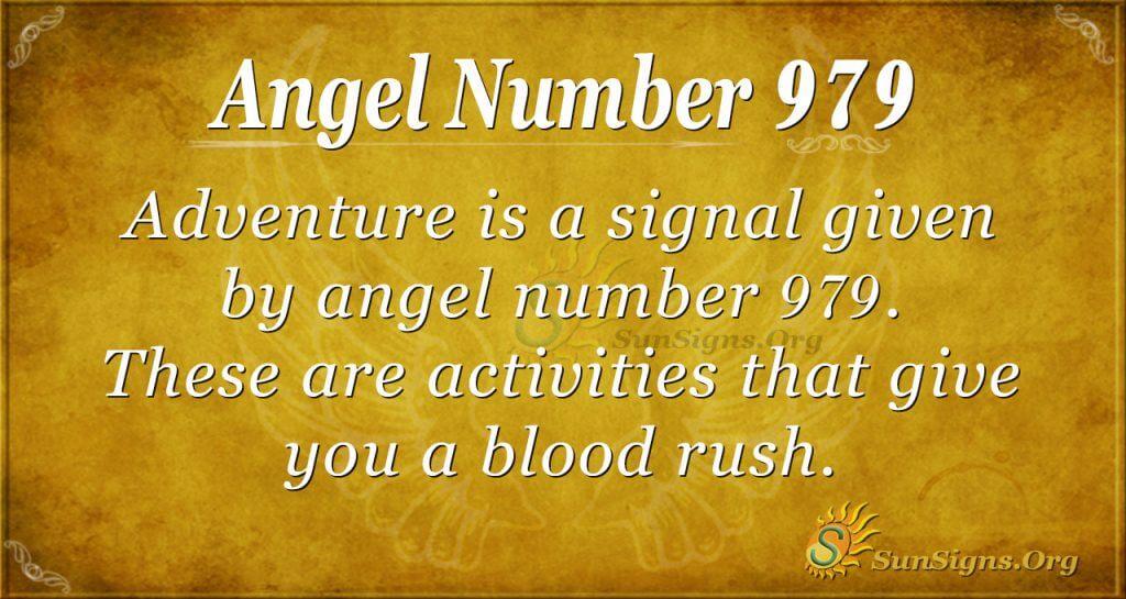 angel number 979
