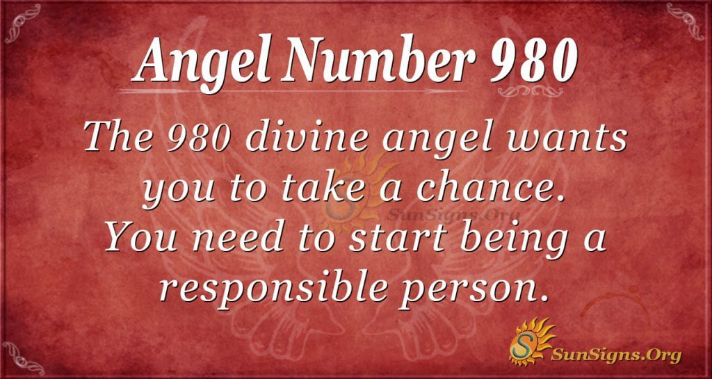 angel number 980
