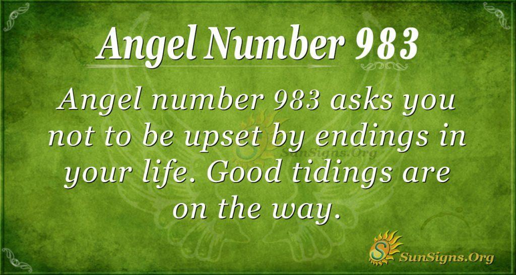 angel number 983