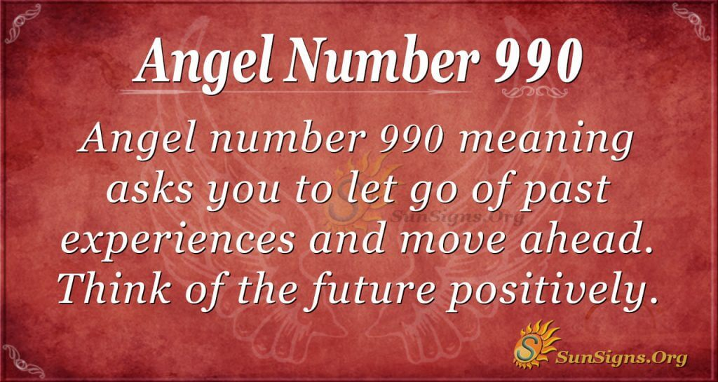 angel number 990