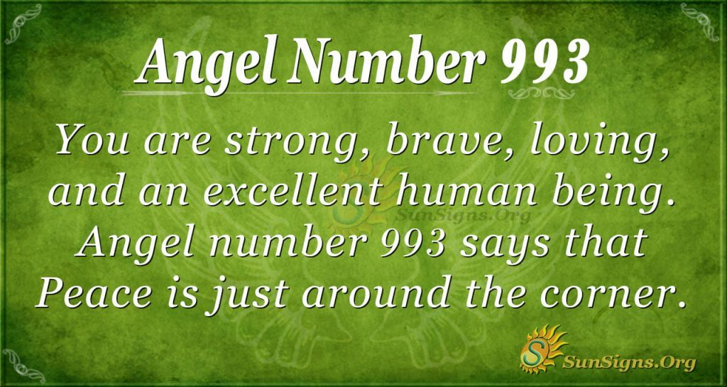 angel number 993