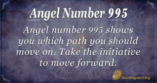 angel number 995