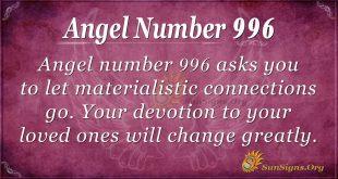 angel number 996