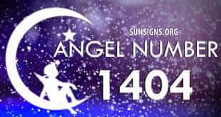 angel number 1404