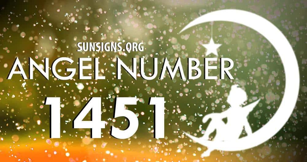 angel number 1451