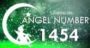 angel number 1454