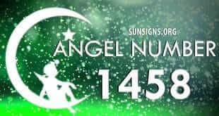 angel number 1458