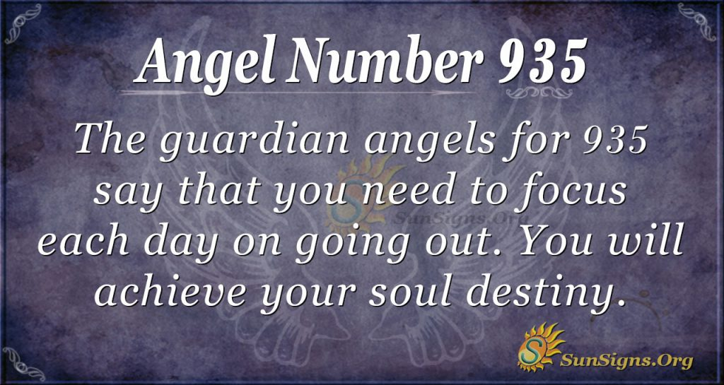 angel number 935