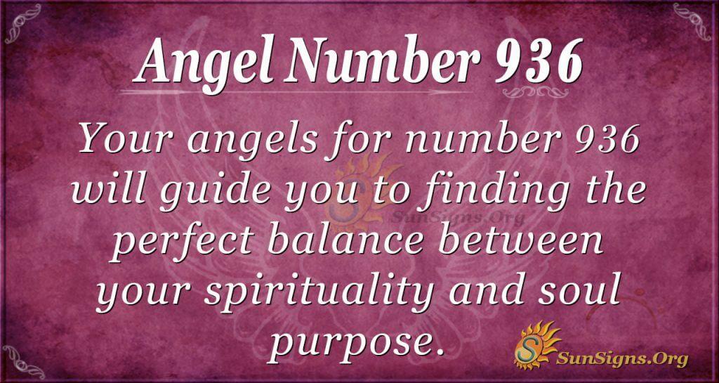 angel number 936