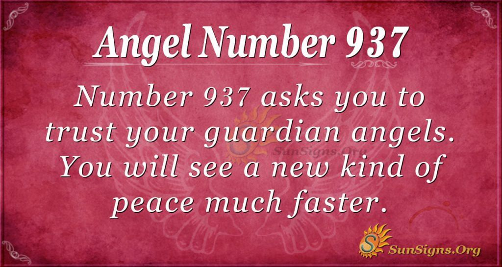 angel number 937