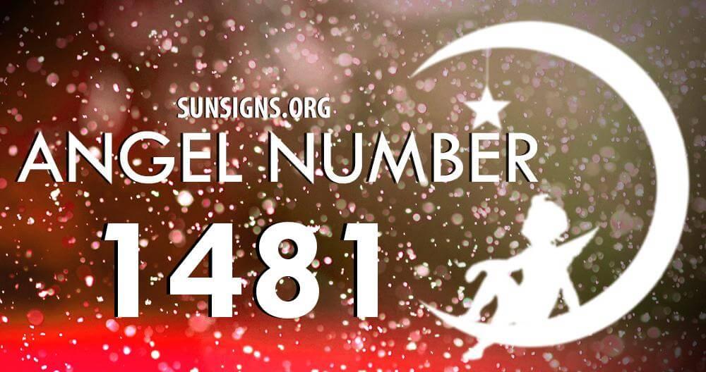 angel number 1481