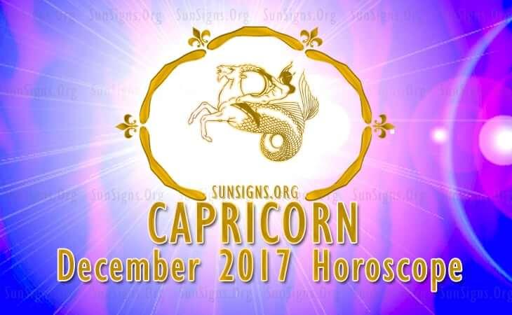 capricorn december 2017 horoscope