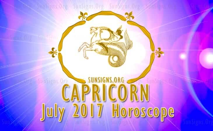 capricorn july 2017 horoscope