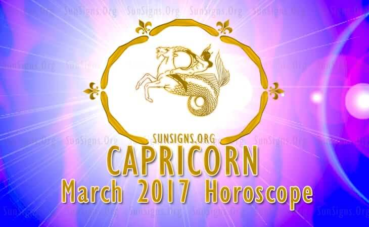 capricorn march 2017 horoscope