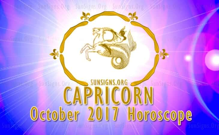 capricorn october 2017 horoscope