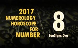 8 numerology horoscope 2017