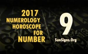 9 numerology horoscope 2017