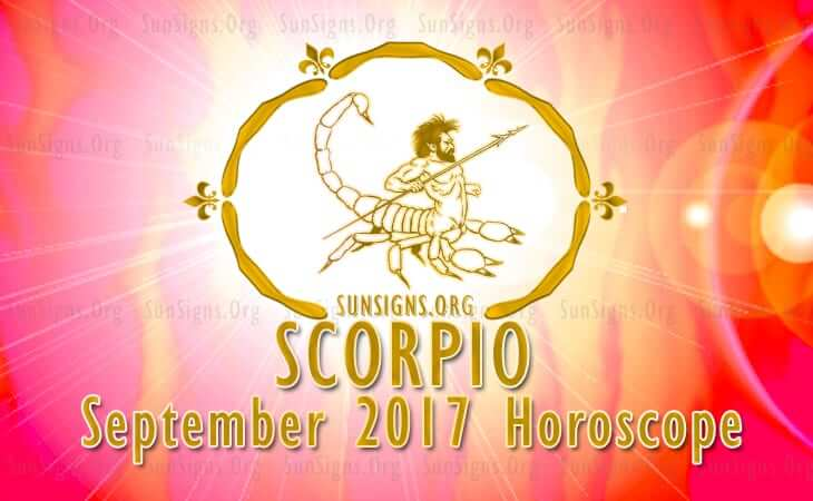 scorpio september 2017 horoscope