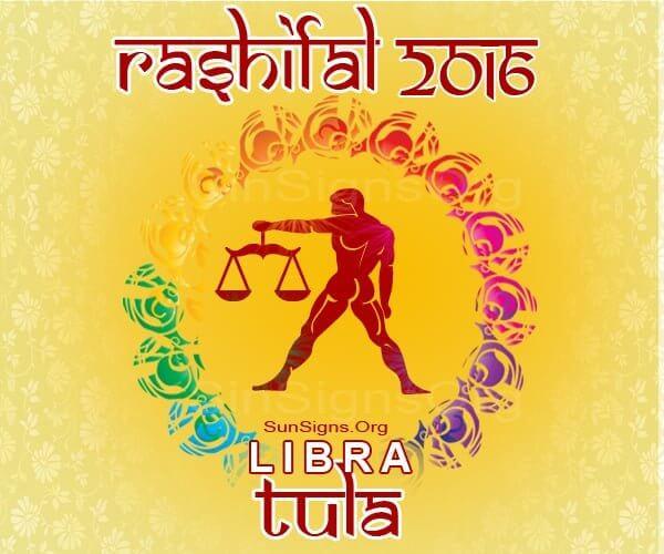 Tula 2016 Rashifal Predictions