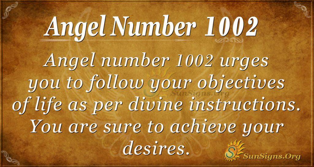 angel number 1002