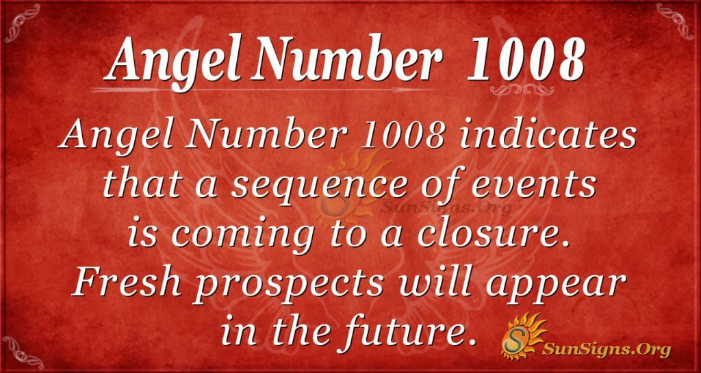 angel number 1008