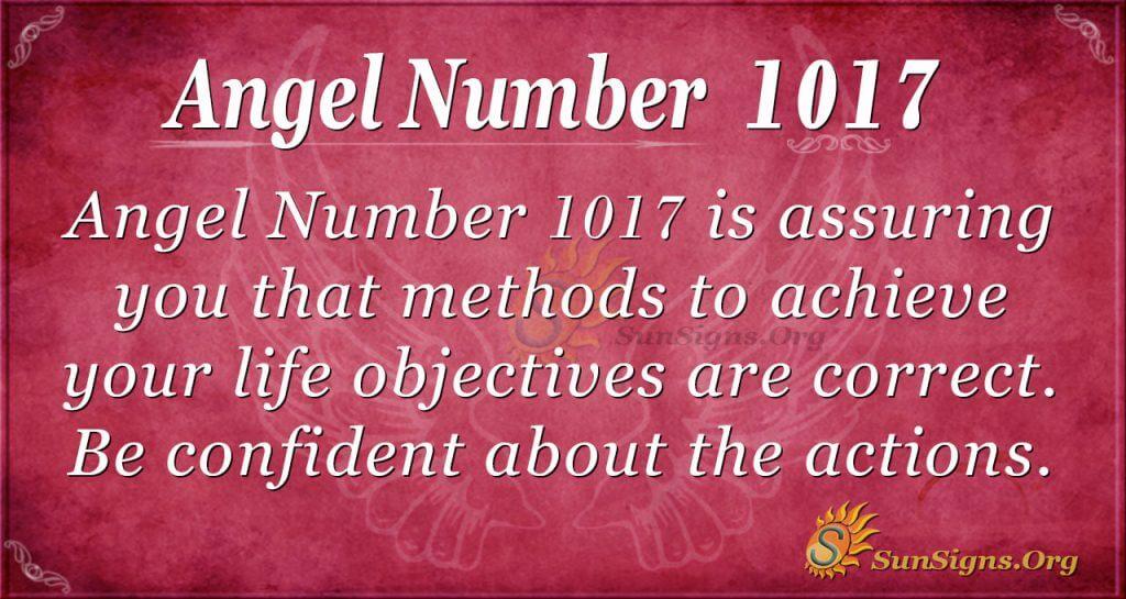angel number 1017