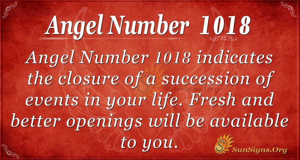 angel number 1018