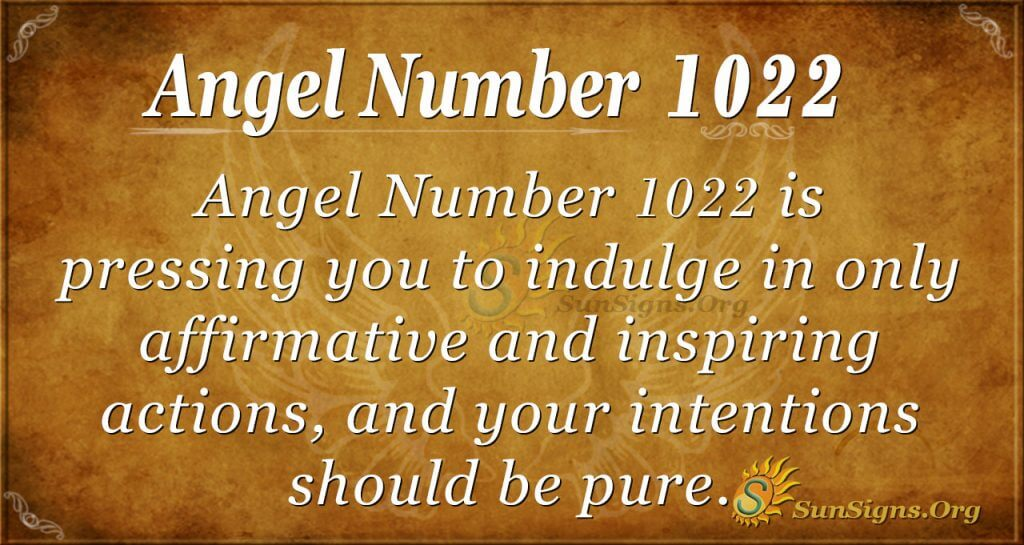 angel number 1022