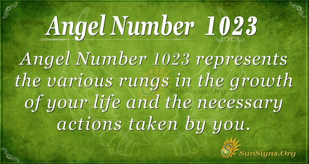 angel number 1023