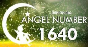 angel number 1640