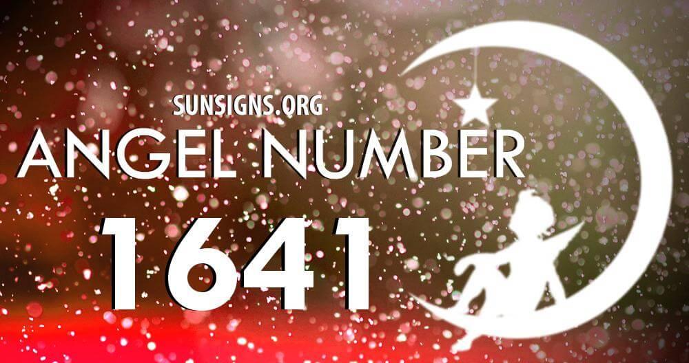 angel number 1641
