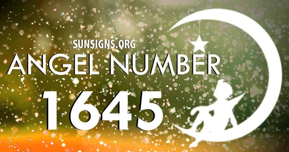 angel number 1645