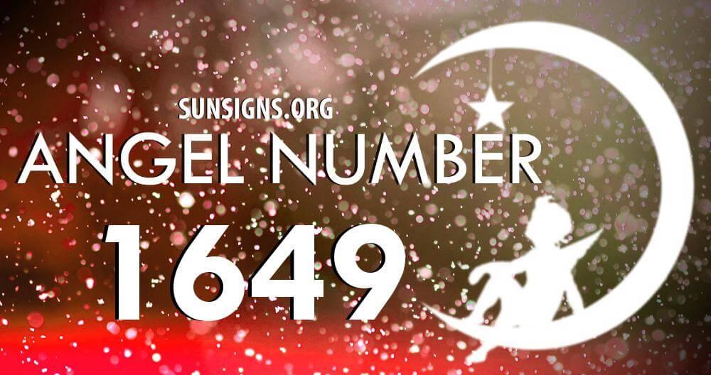 angel number 1649