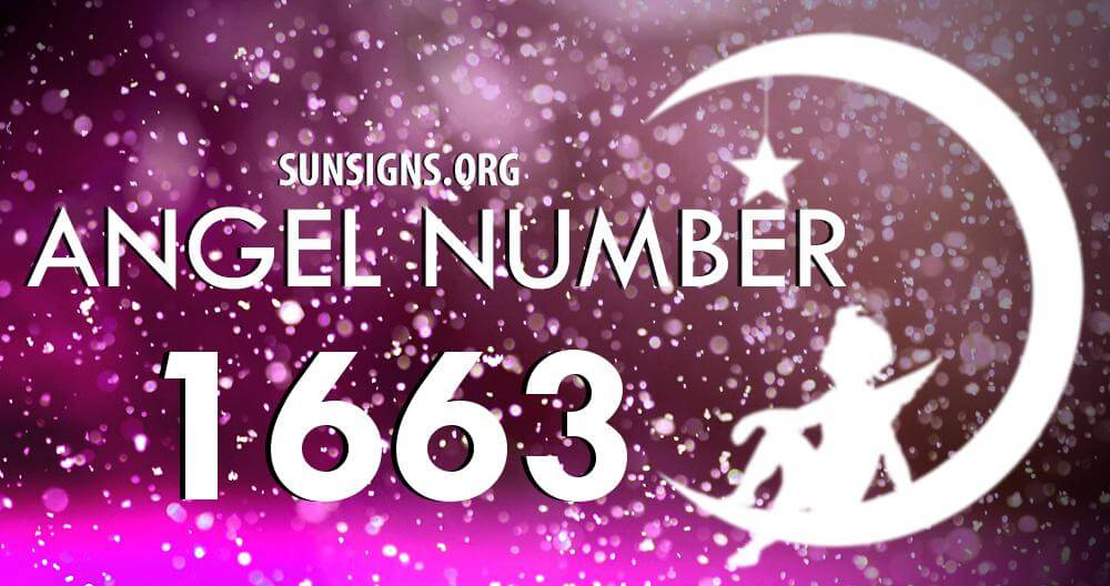 angel number 1663