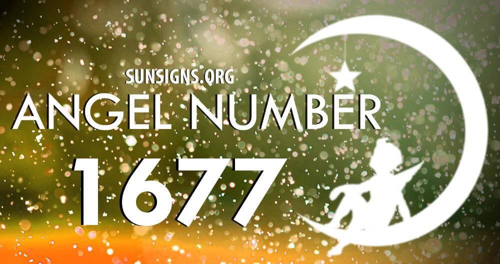 angel number 1677