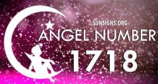 angel number 1718