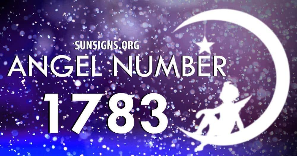 angel number 1783