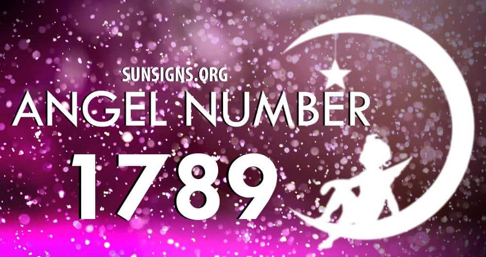 angel number 1789