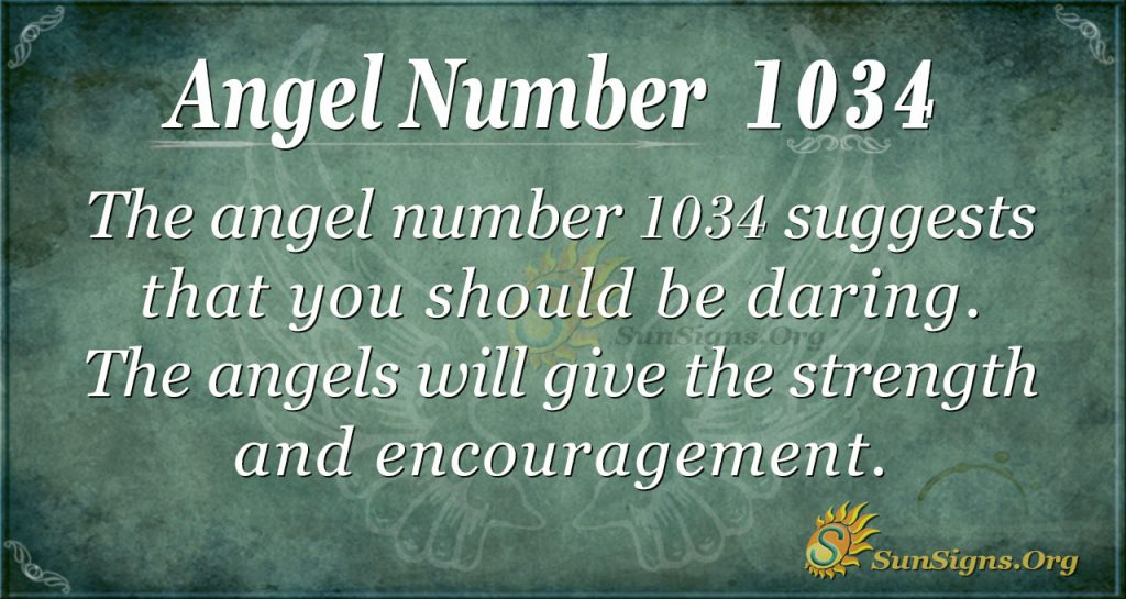 angel number 1034