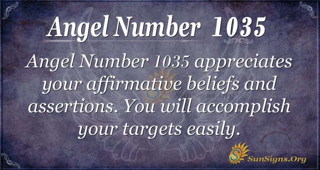angel number 1035