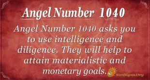 angel number 1040