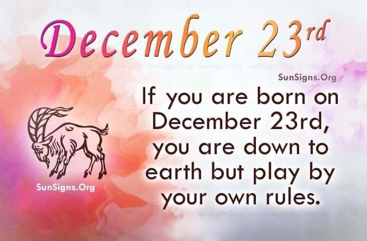 december 23 famous birthdays