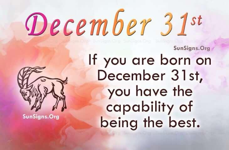 december 31 famous birthdays