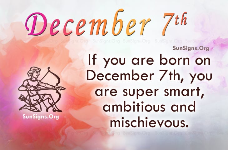 december 7 birthdays astrology